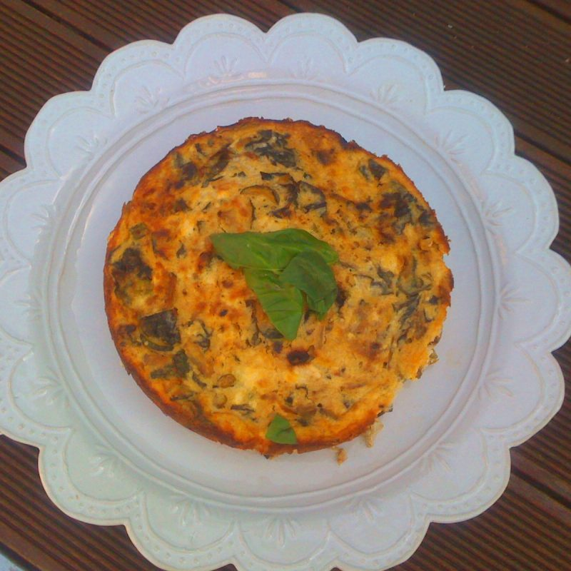 Black Garlic Frittata