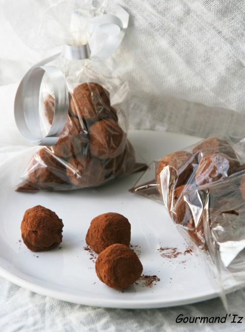 Coeur de truffes à l'ail noir