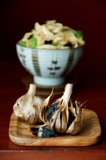 Black Garlic Noodles – Umami blast